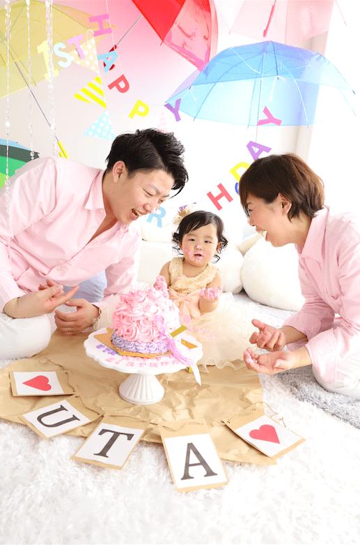 札幌 西区 家族写真