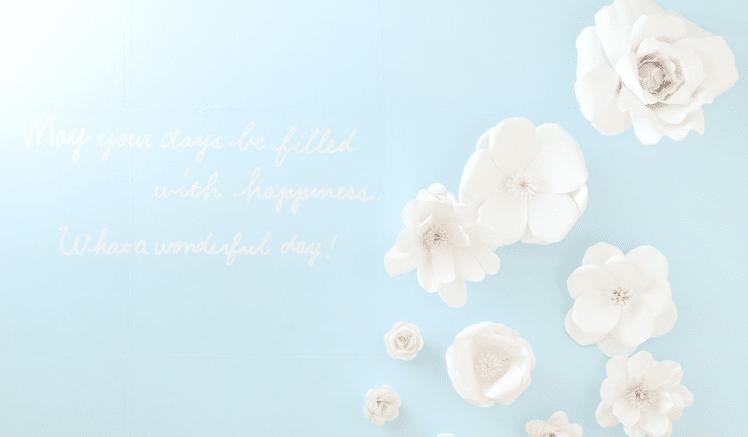 PALETTE WHITE FLOWER