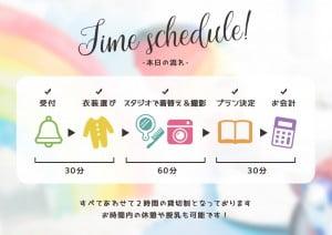 札幌西店Q&A〜お店についてから帰るまでどんな流れなの??貸切2時間のタイムスケジュールをご紹介!
