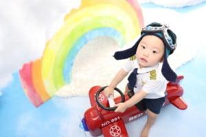1歳のお誕生日記念でお越しの「かなとくん」のお写真紹介!
