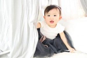1歳のお誕生日記念でお越しの「ゆうかちゃん」のお写真紹介!