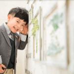 入学男の子