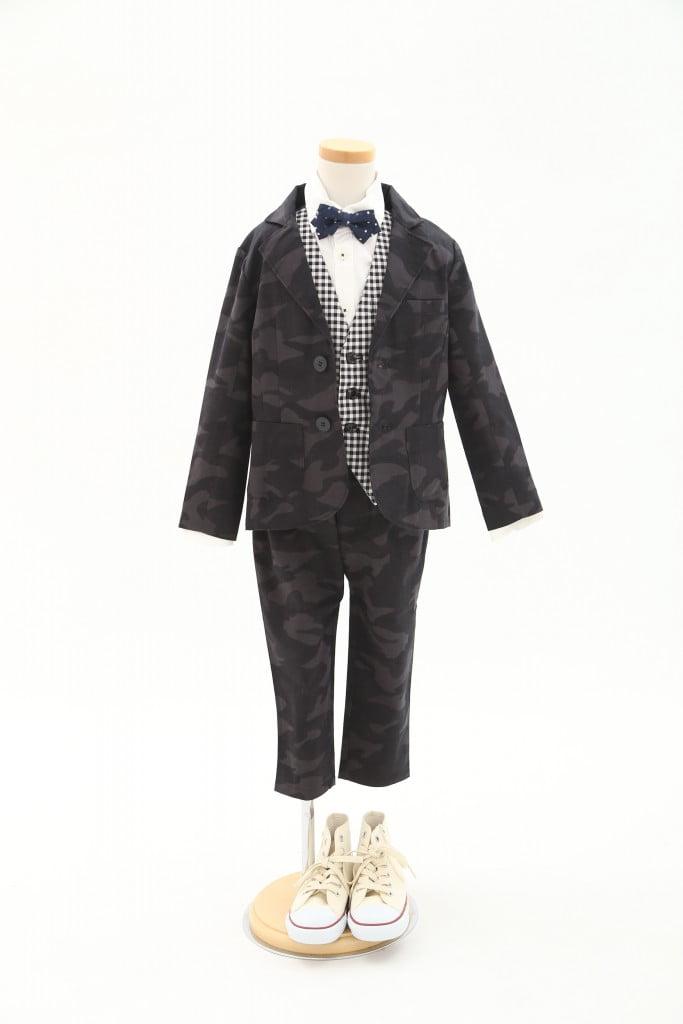 上磯新作スーツ