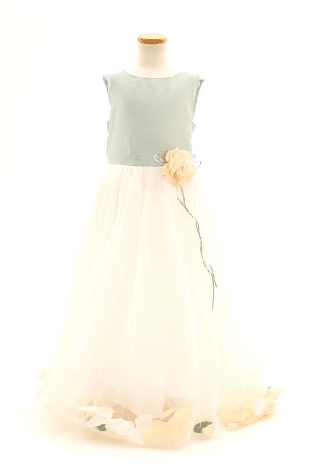 ハーフ成人ドレス