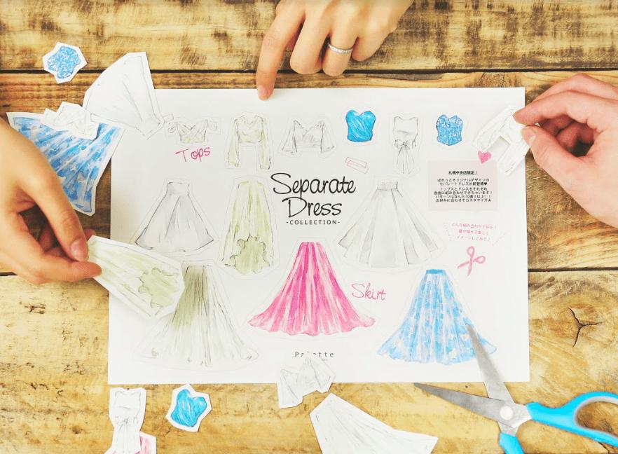 separate dress