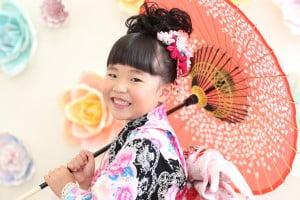 【七五三撮影】あかりちゃん/ウイングベイ小樽店