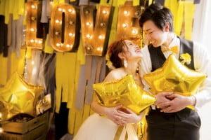 オシャレ花嫁の新常識⁉︎『リンクコーデ』が旬♡【札幌中央店限定】