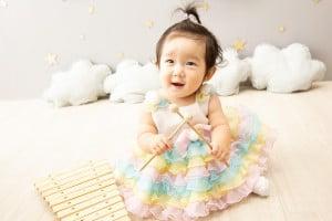 【旭川店】1歳の撮影で来てくれたつむぎちゃんを紹介します♡