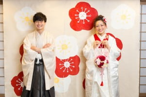 [旭川店]Wedding 新背景登場☆ポップな和室スタイル