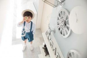 【七五三】SUGER LANDでのモデル撮影!5歳男の子のカジュアル×シンプルスタイルでの撮影イメージを解禁!【帯広店】