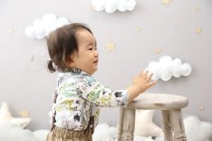 [旭川店]お客様紹介☆1歳の撮影できてくれたまひろくん♡
