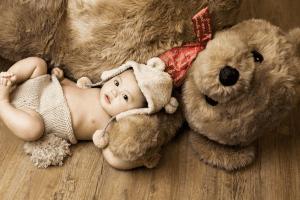 【ぱれっと小樽店】小樽店ではクマのお人形と一緒にかわいい写真が撮れちゃう!?【小樽店限定!】