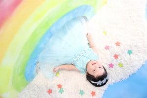 百日記念でお越しの「えまちゃん」のお写真紹介!