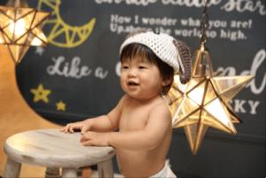 【旭川店】お客様紹介☆1歳の撮影できてくれたひなたくん☆