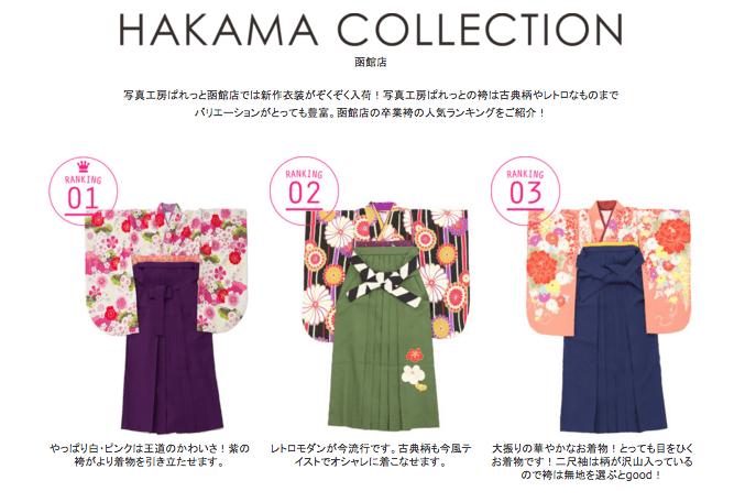 函館衣装コレクション
