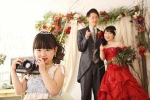 お子様と一緒にフォトウェディング…♡パパママオプションのご紹介!!