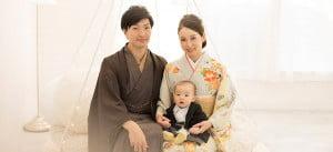 【旭川店】お宮参りは家族揃ってお着物はいかがですか?