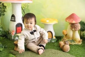 1歳記念でお越しの「かなたくん」のお写真紹介!