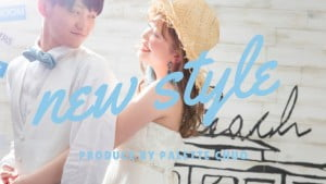 PaletteからブライダルNEW STYLEがリリース!新背景&新コーデ【第2弾@札幌中央店】