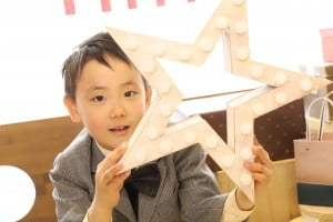 入学記念でお越しの「けいすけくん」のお写真紹介!