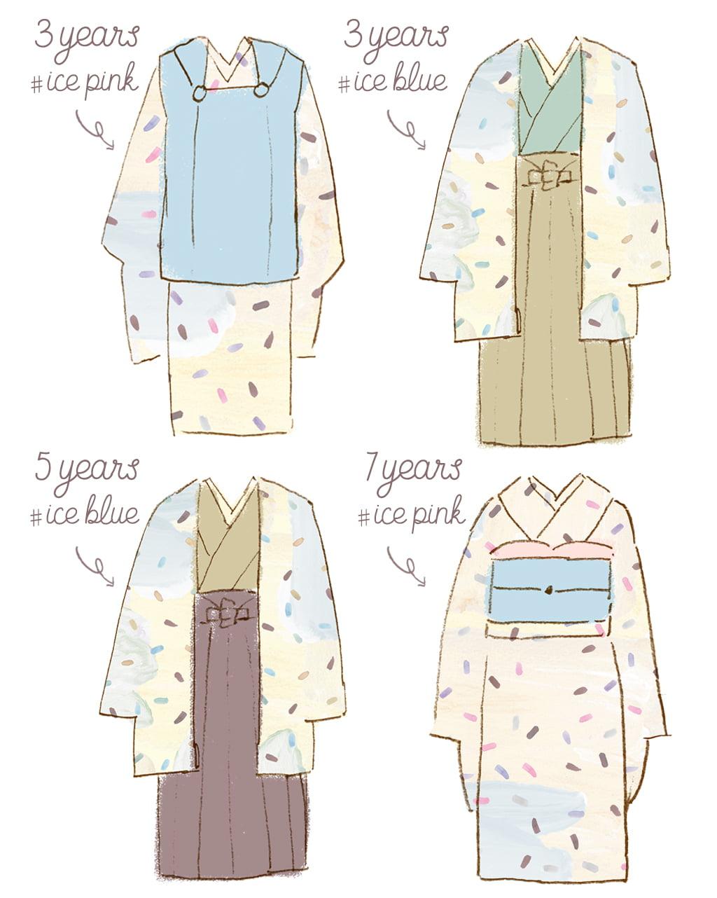 オリジナル七五三衣装