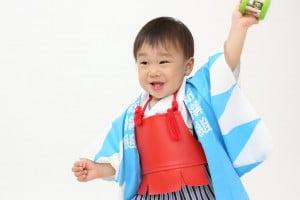 【一歳記念撮影】ゆうがくん/ウイングベイ小樽店