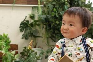 【一歳記念撮影】りゅうがくん/ウイングベイ小樽店