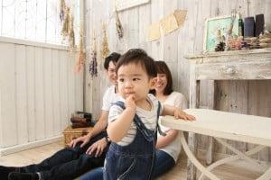 【一歳記念撮影】ゆいとくん/ウイングベイ小樽店