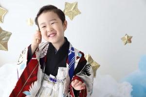 七五三記念でお越しの「りゅうとくん」のお写真紹介!