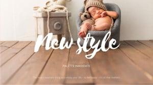 【新スタイル!】人生で一番優しい顔をする16日間、新生児フォト【Palette函館店】