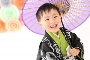 七五三記念の撮影に来てくれた☆そうたくん☆【函館北斗店】