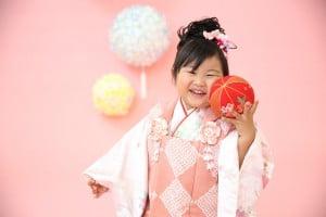【七五三撮影】こはるちゃん/ウイングベイ小樽店