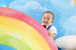 1歳記念でお越しの「よりくん」のお写真紹介!