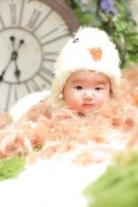 【百日記念撮影】なるさちゃん/ウイングベイ小樽店
