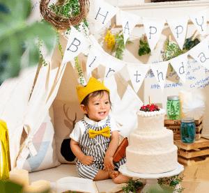 【サッポロファクトリー店】はじめてのお誕生日、1才記念写真はぱれっとで残そう♪