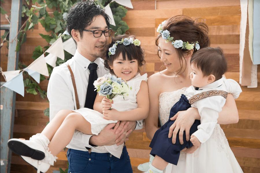 パパママ婚 札幌 ウェディングフォト