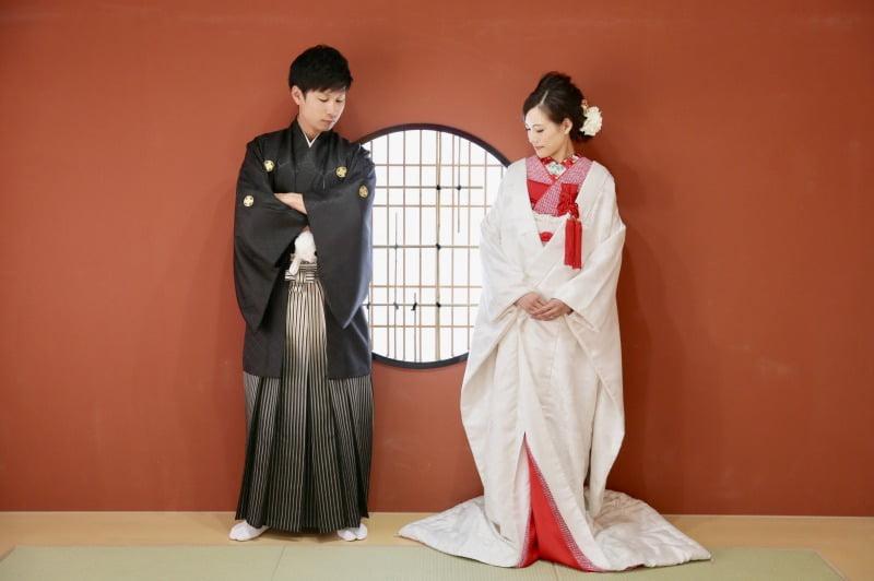 婚礼 和装