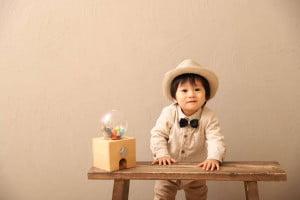 1歳記念でお越しの「ゆうりくん」のお写真紹介!