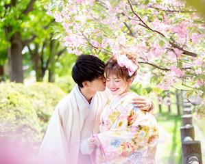 【ファクトリー店】桜と一緒に撮るウェディングフォトはいかがですか♡大人気の桜ロケーション撮影受付スタート!!