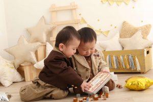 *お客様紹介*1歳のお誕生日記念撮影に来てくれたたいせいくん*こうせいくん@ぱれっと函館店