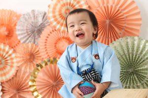 *お客様紹介*1歳のお誕生日記念撮影に来てくれたれいくん@ぱれっと函館店