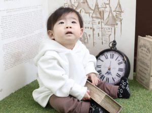 1歳お誕生日撮影に来てくれた☆かいりくん☆をご紹介♪【函館北斗店】