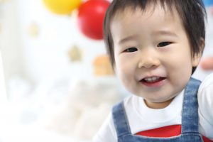 1歳記念でお越しの「そうすけくん」のお写真紹介!