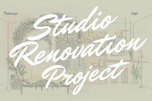 【旭川店】Studio Renovation Projectスタート! **takasago**  Bridal新背景!!