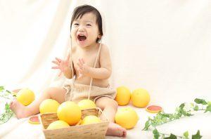 1歳お誕生日撮影に来てくれた☆つかさくん☆をご紹介♪【函館北斗店】