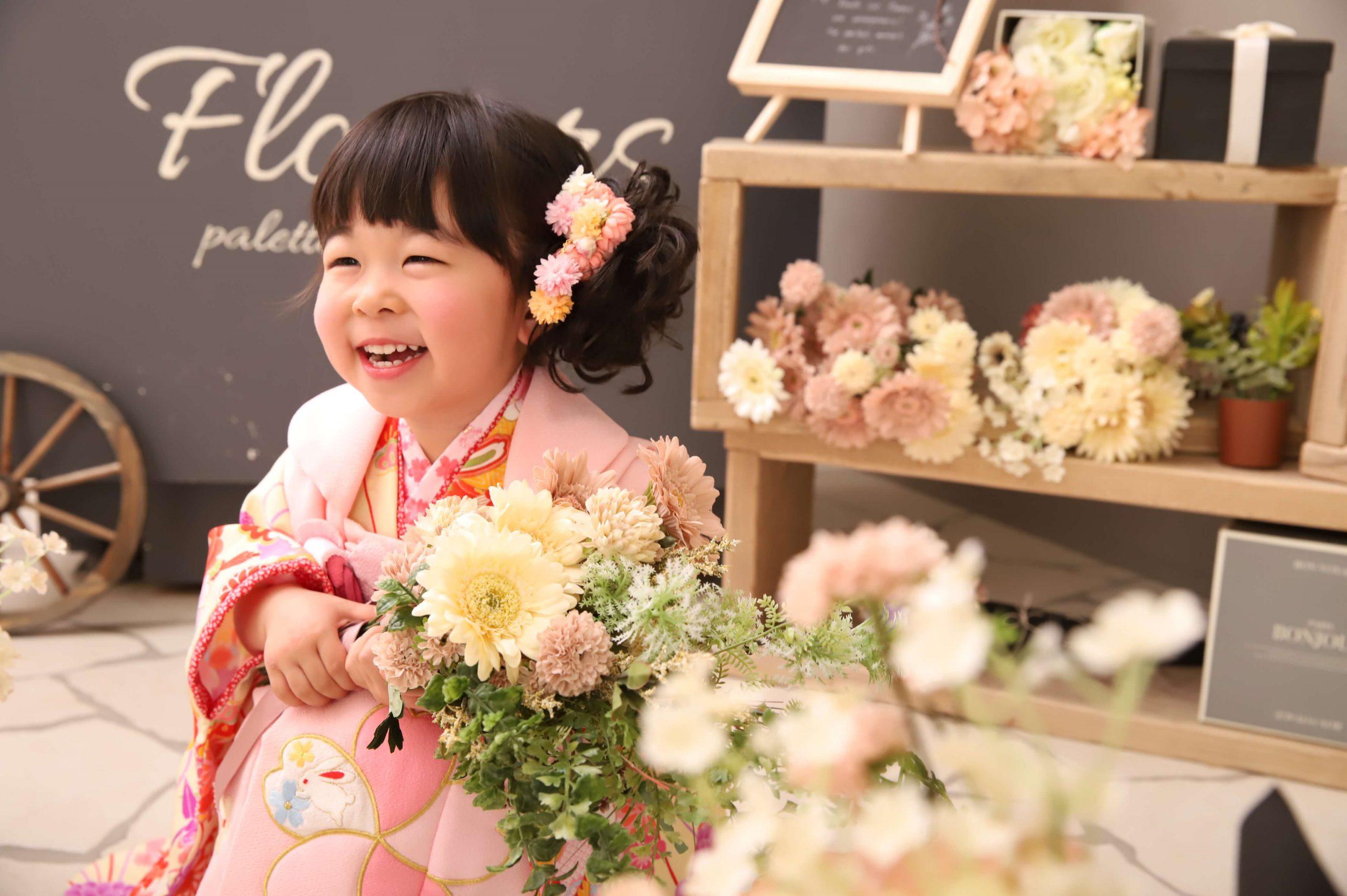 七五三記念でお越しの「りのちゃん」のお写真紹介!