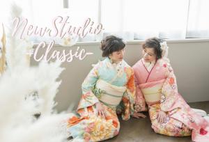 お洒落No. 1新スタジオ「classic〜クラシック」ビジュアル初公開.*