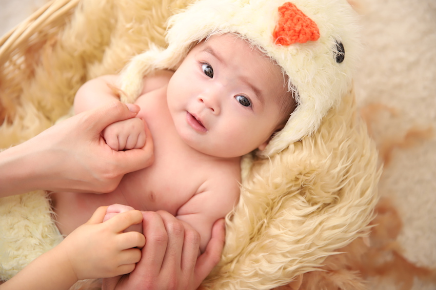 ぱれっと札幌西町の赤ちゃん写真