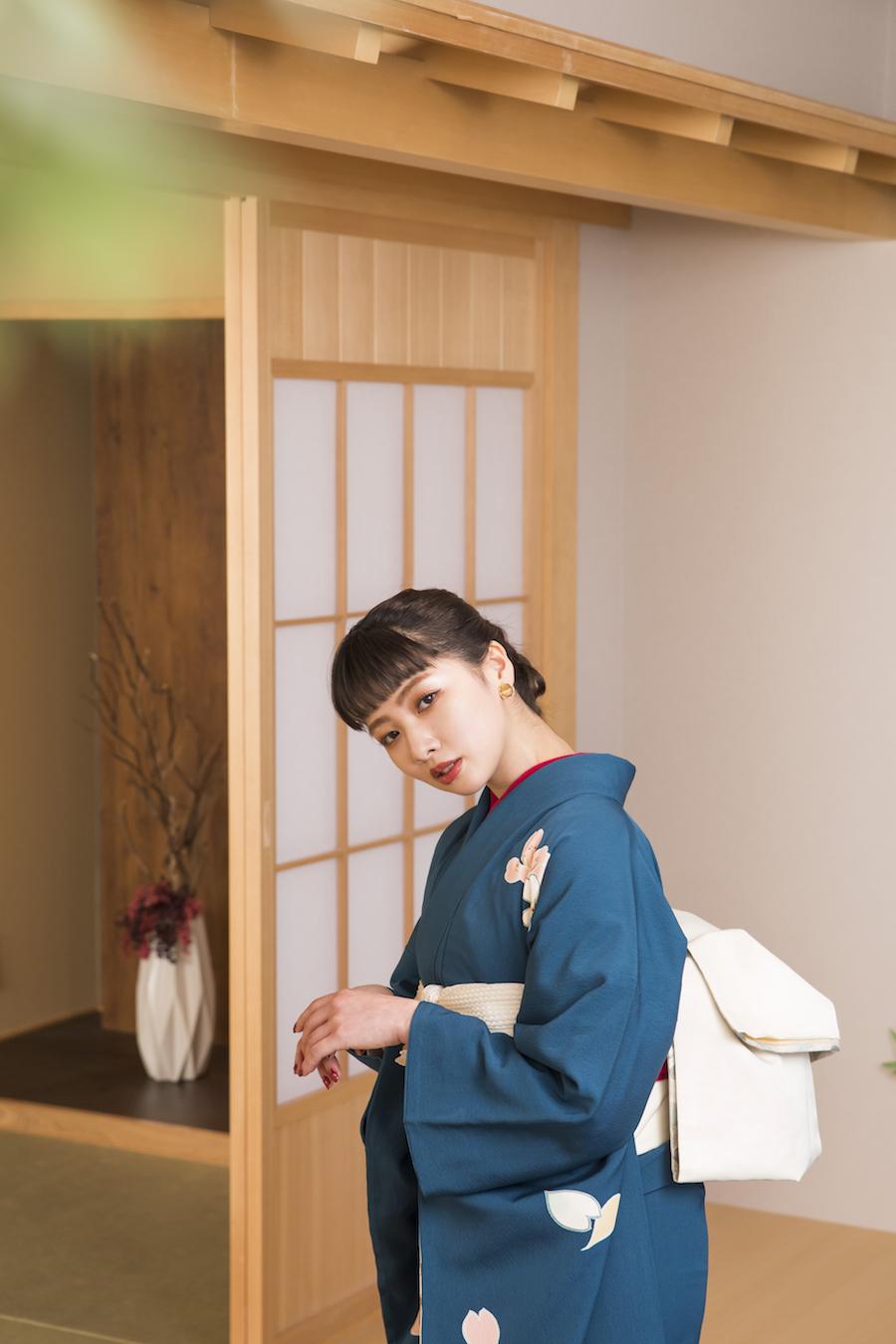 ぱれっと札幌中央店で撮影した成人記念