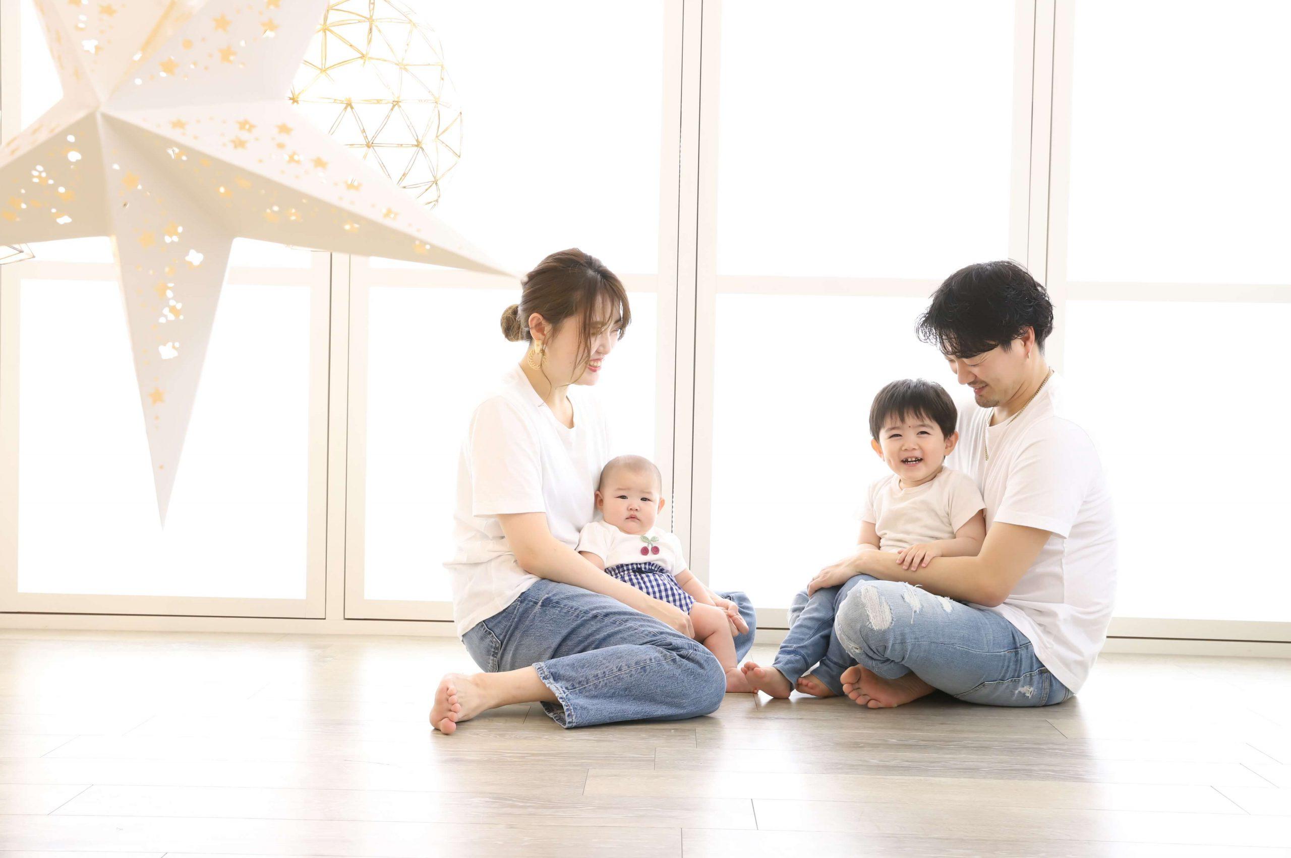 札幌西店の家族撮影はどんな雰囲気で撮れる??スタジオ毎のオススメスポット徹底解説!【Part.1】